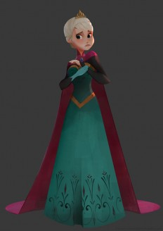 Frozen Elsa and Anna on