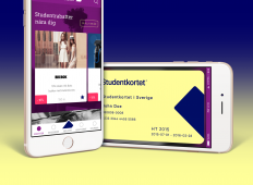 Design Case - Studentkortet - Mobile App on