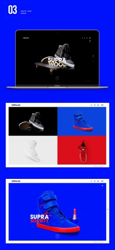 The Supra Footwear Website | Abduzeedo Design Inspiration