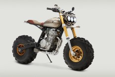 John Ryland's wild Honda XR650L is a big, fat middle finger to critics of the modern-day custom scene. - Bike EXIF