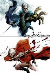 Dante and Vergil by ~Jo-Chen