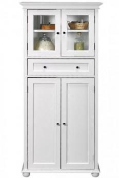 Hampton Bay 1-Drawer Tall Cabinet - Linen Cabinets - Bathroom Cabinets - Bath   HomeDecorators.com