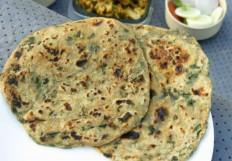 Methi Aloo Paratha Recipe