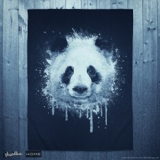 Score Watercolor Panda Portrait! by badbugs_art on Threadless