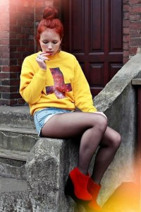 """Heppin.Com Wedges, Https://Www.Facebook.Com/Pages/Magic Box/114435078639212?Ref=Ts Blouse //""""Galaxy cross & red wedges"""" by Wioletta Mary Kate // LOOKBOOK.nu"""