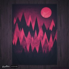 Score Dark Mystery Peak Wood's by badbugs_art on Threadless