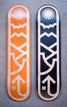 Skate Decks by Draplin