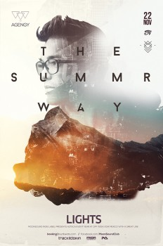 Summer Way Poster in Poster