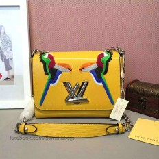 Louis Vuitton Epi Leather Early Bird Twist MM M41865 Yellow