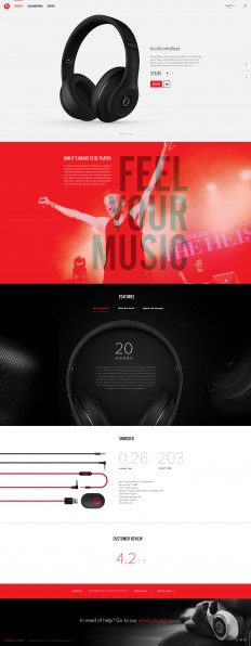 BeatsByDre concept on