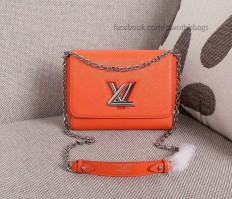 Louis Vuitton Wave Epi Leather Twist MM M50380 Orange