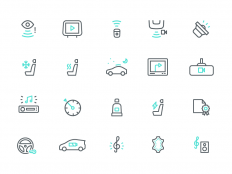 Instamotor Icons by Dmitri Litvinov - Dribbble