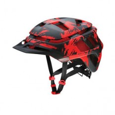 Smith Forefront Bike Helmet Matte Fire Insomniac Medium | eBay