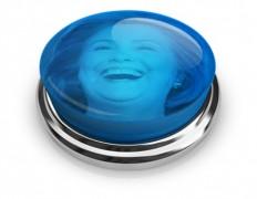 Hillary Laugh Button - Washington Free Beacon
