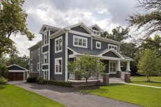 Custom Craftsman Home Exterior - Traditional - Exterior - chicago - by Great Rooms Designers & Builders
