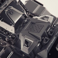 "Gavriil Klimov auf Instagram: ""Abstract hard surface #3d #3DSmax #concept #design #industrial #render #keyshot #mech #hardsurface #mechanical #art #conceptart #gavriilklimov #photoshop #adobe"""