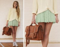 "Dress, Shirt, Grafea Satchel //""SPRING"" by Fanny Lindblad // LOOKBOOK.nu"