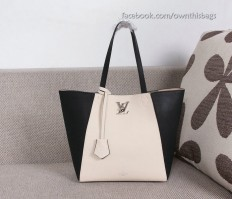 Louis Vuitton Soft Calfskin Lockme Cabas M42291