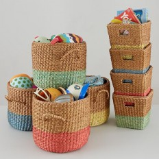 Half Tone Basket Collection | The Land of Nod