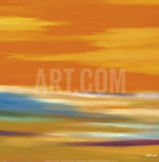 Prairie Abstract 12 Art Print by Mary Johnston at Art.com