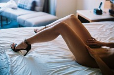 De fotoshoot met deze anonieme mooie dame is bizar sexy — Nitch