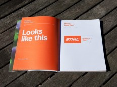 STIHL - Making It Easy Brand Guidelines on
