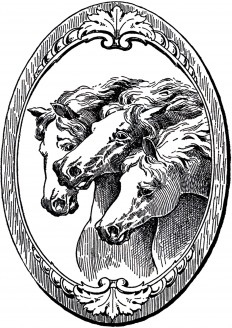 Vintage-Horse-Illustrations-GraphicsFairy.jpg (1500×2123)