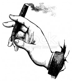 stock-illustration-10488749-hand-holding-a-cigar-antique-design-illustrations.jpg (490×556)