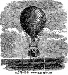 old-aerostat-or-hot-air-balloon-vintage-illustration_gg57804044.jpg (335×370)