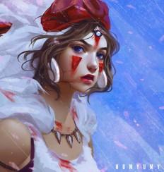 Mononoke Hime by NUMYUMY on DeviantArt