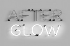 After Glow Neon Type in Typography