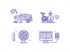 Service Icons by Matt Anderson - Dribbble