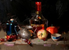 Qiang Huang: Still Life Oil Painting | The Coppini Academy of Fine Art