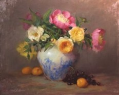 Elizabeth Robbins: The Floral Still Life | The Coppini Academy of Fine Art