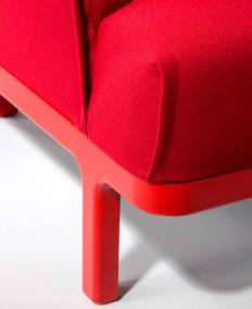 Zip Armchair by Edeestudio - InteriorZine