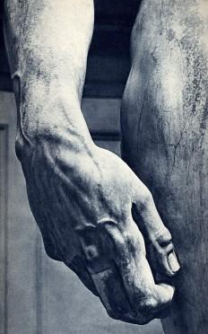 melisaki | Michelangelo's David, hand detail by Photo...
