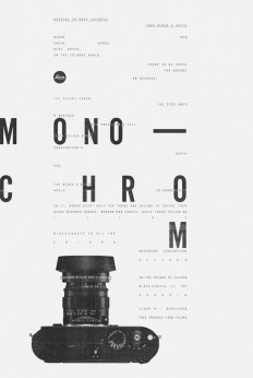 Leica // M Monochrom in Typography