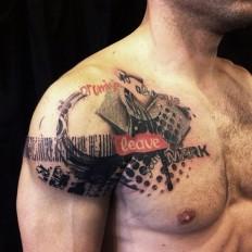 Shoulder Tattoos For Men Best Unique and Fresh Art - Inspiring Mode