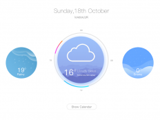 Weather by Dusign - Dribbble