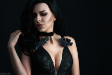 TW:WH - Lingerie - Yennefer by MilliganVick on DeviantArt