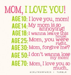 mom i love you quotes and photo sayings #5 | DemiPix