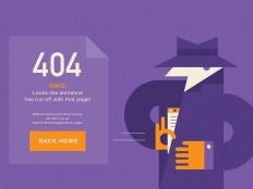 404 Page Inspiration — Muzli -Design Inspiration