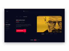 TV App UI Inspiration — Muzli -Design Inspiration