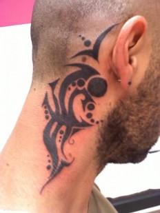 Neck Tattoos For Men The Modern New Art - Inspiring Mode