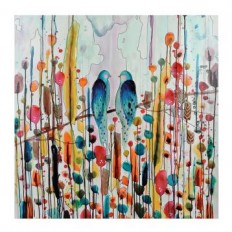 Love Birds Canvas Art Print | Kirklands