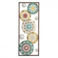 Mirrored Kaleidoscope I Metal Plaque | Kirklands