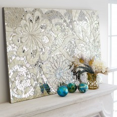 Floral Capiz Wall Panel | Pier 1 Imports