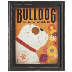 Bulldog Dog Wall Decor | Pier 1 Imports