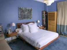 Simple blue bedroom decor style #55 - Catch Ideas!