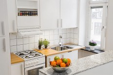 Small apartment kitchen ideas with contemporary design #9 - Catch Ideas!